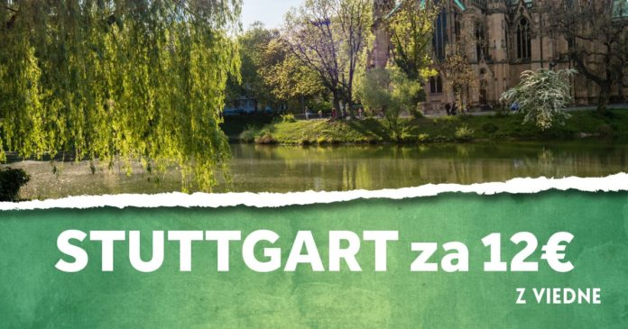 letenky z Viedne do Stuttgartu