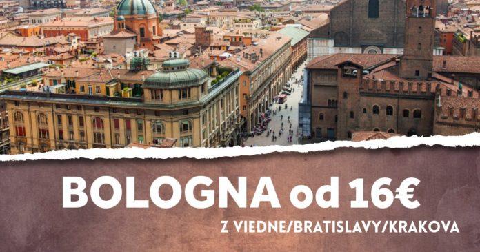 Bologna od 16€ - letenky