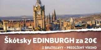 letenky do Edinburgh-u za 20€