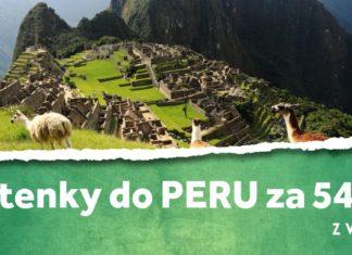 letenky z Viedne do Peru za 549€