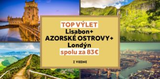 letenky z Viedne do Lisabonu, na Azorské ostrovy a do Londýna