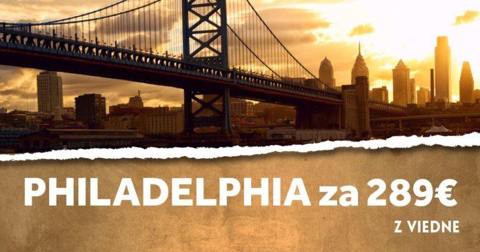 Philadelphia za 289€