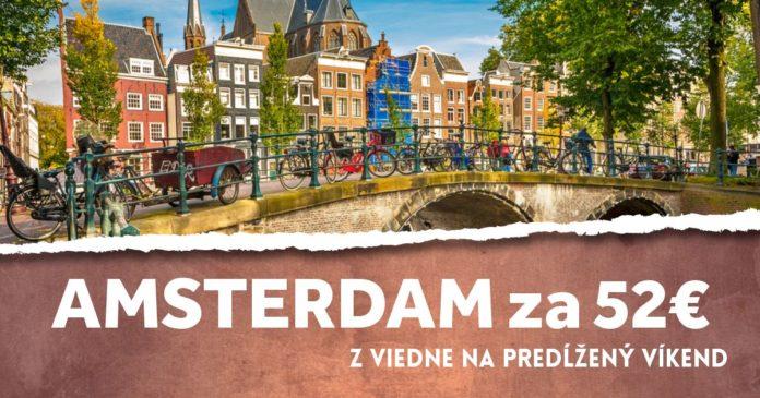 letenky z Viedne do Amsterdamu