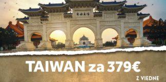 letenky z Viedne na Taiwan za 379€
