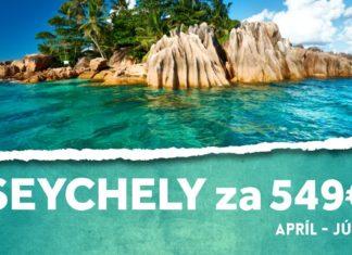 letenky na Seychely za 549€