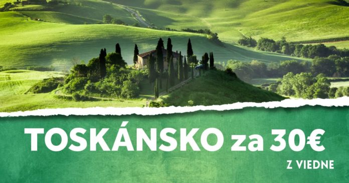 letenky z Viedne do Toskánska