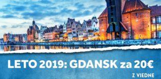 letenky z Viedne do Gdansk-u za 20€