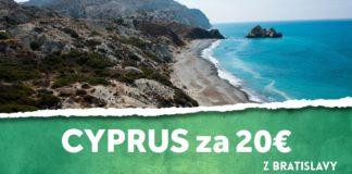 letenky z Bratislavy na Cyprus