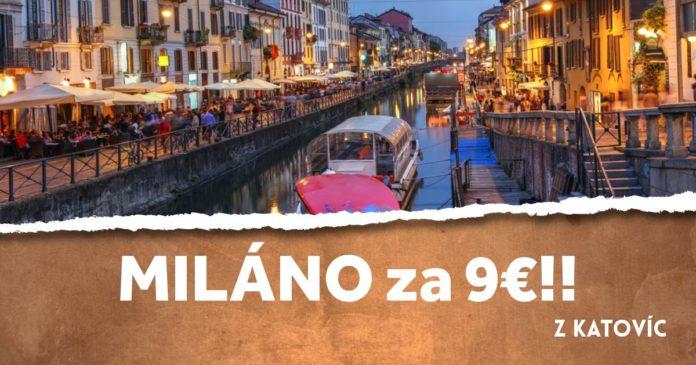 letenky z Katovíc do Milána