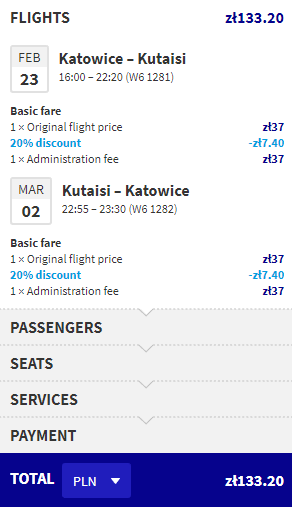 letenky do Kutaisi