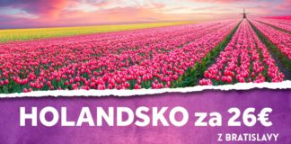 letenky z Bratislavy do Holandska