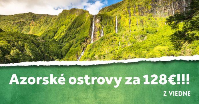 letenky z Viedna na Azorské ostrovy