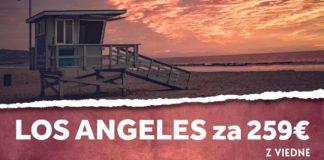 letenky z Viedne do Los Angeles za 259€
