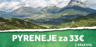letenky z Krakova na Pyreneje