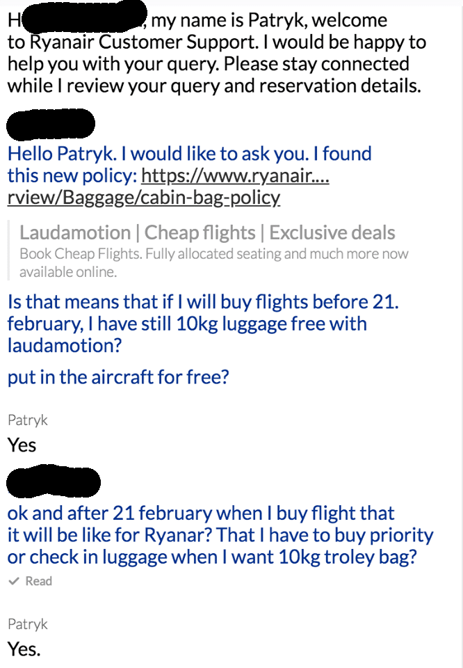 4d9b34f81ffd7 Už ani u Laudamotion nebudete mať príručnú batožinu zadarmo! (AKTUALIZOVANÉ)