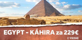 letenky z Viedne do Egypta
