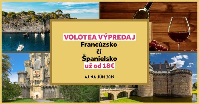 volotea výpredaj - letenky od 18€