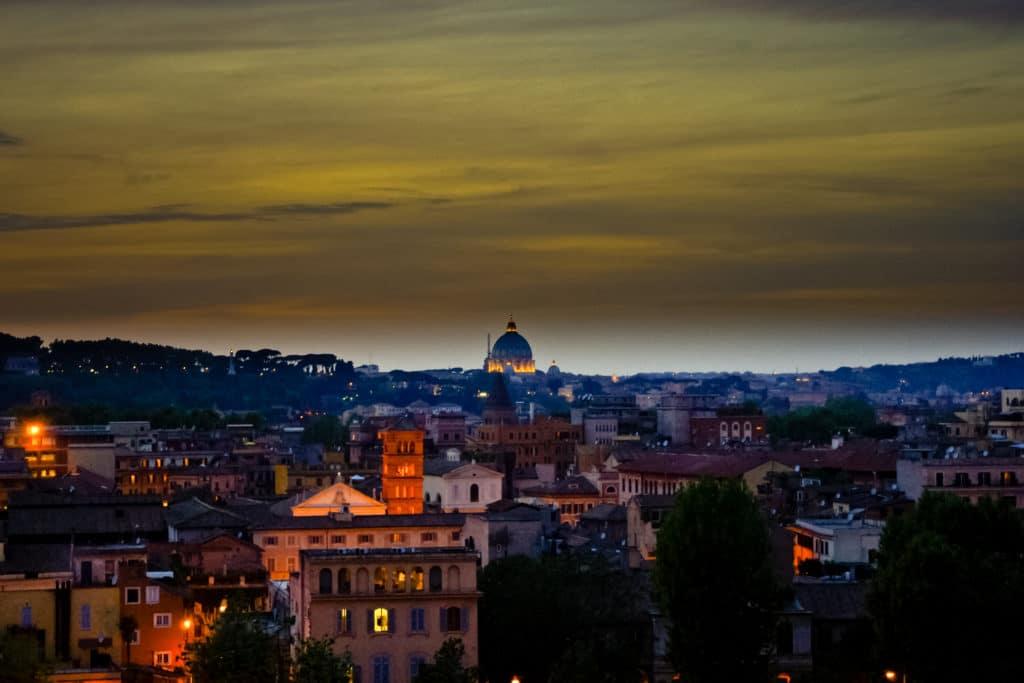 mesto, Rím