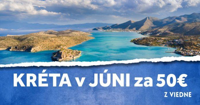 letenky z Viedne na Krétu v júni