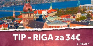 letenky z Prahy do Rigy