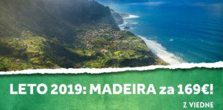 letenky z Viedne na Madeiru