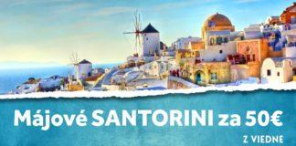 letenky z Viedne na Santorini