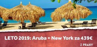 letenky z Prahy na ostrov Aruba