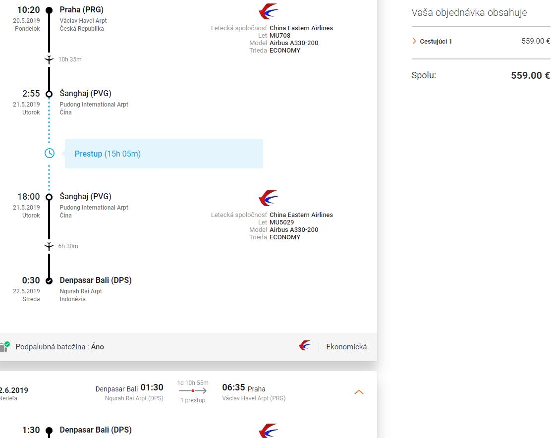letenky z Prahy na Bali