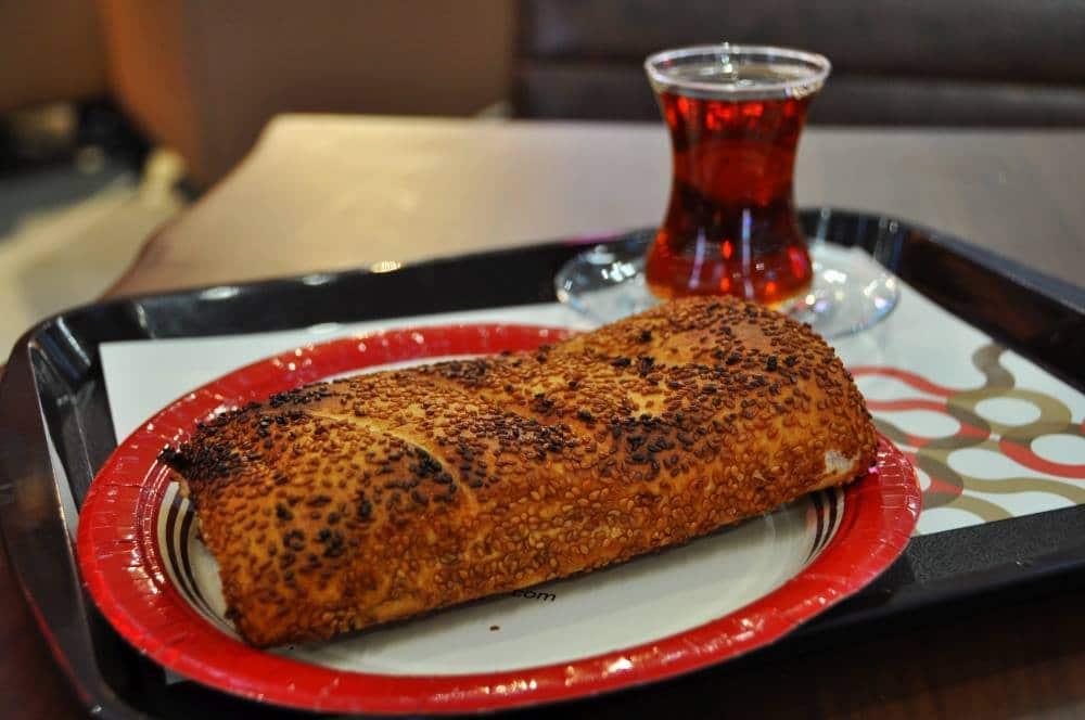jedlo na letisku vIstanbule