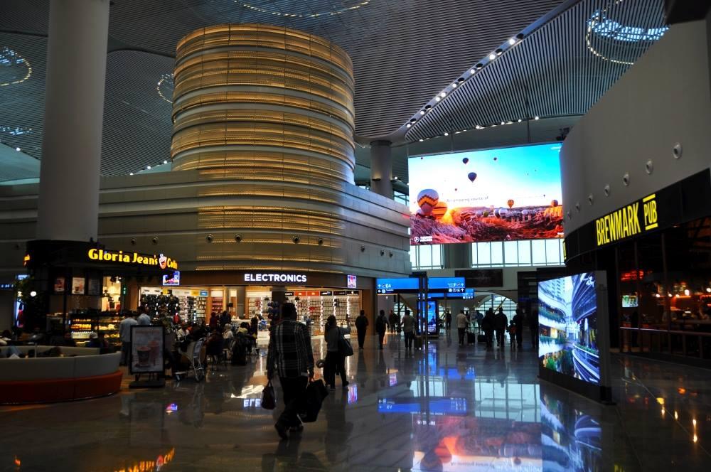 nové letisko istanbul hala
