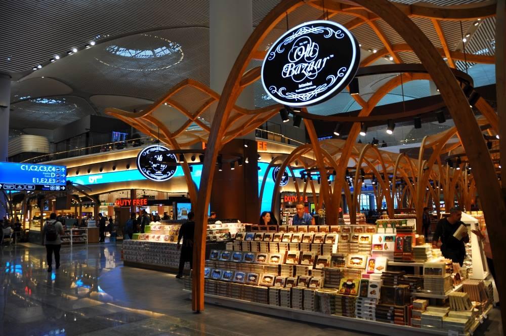 obchody na novom letisku v istanbule