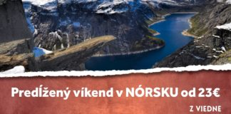 letenky z Viedne do Nórska