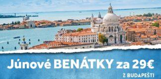 letenky z Budaešti do Benátok