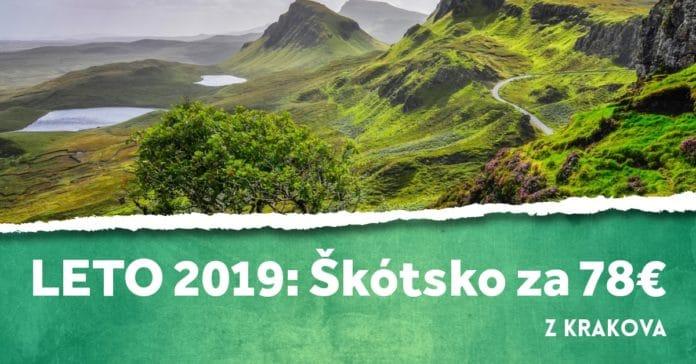 letenky z Krakova do Škótska