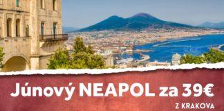 letenky z Krakova do Neapolu