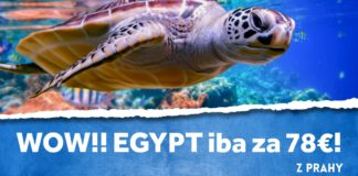 letenky z Prahy do Egypta