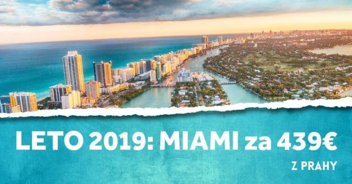 letenky z Prahy do Miami