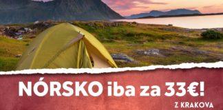 letenky z Krakov do Nórska