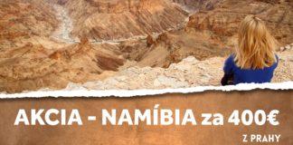 letenky z Prahy do Namíbie