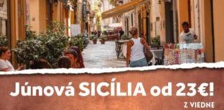 letenky z Viedne na Sicíliu