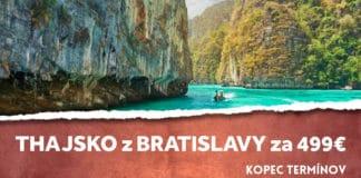 letenky z Bratislavy do Thajska