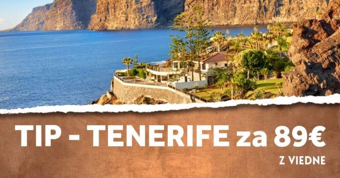 letenky z Viedne na Tenerife
