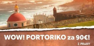 letenky z Prahy do Portorika