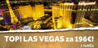 letenky z Paríža do Las Vegas