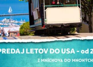letenky do Usa od 267€!