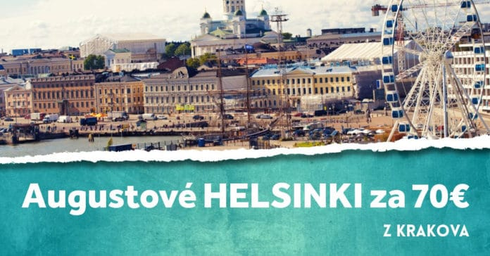 letenky z Krakova do Helsínk