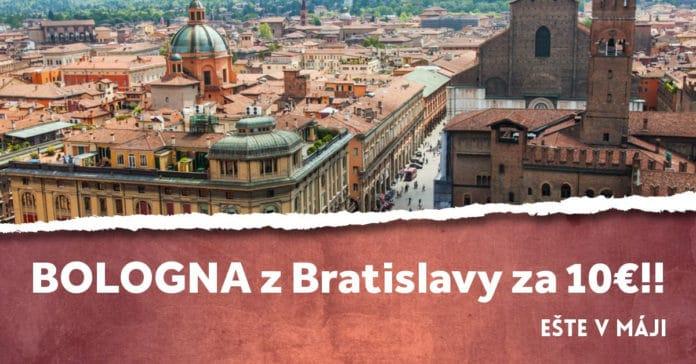letenky z Bratislavy do bologne