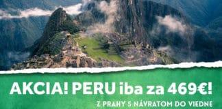 letenky z Viedne do Peru