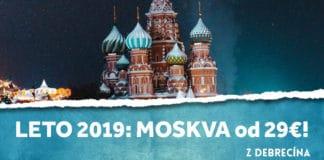 letenky z Debrecína do Moskvy