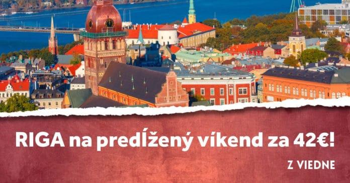 letenky z Viedne do Rigy